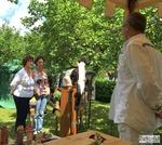 Potpourri der Sinne, Rossatz, Gartenskulpturen, Rosenkugeln